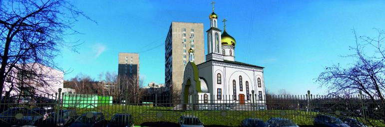 Храм Cвященномученика Василия, протоиерея Московского, в Коньково